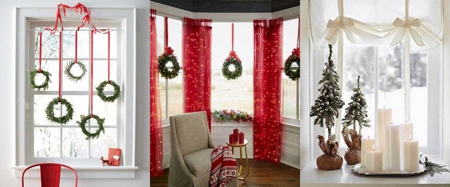 Decoración navideña para tus ventanas