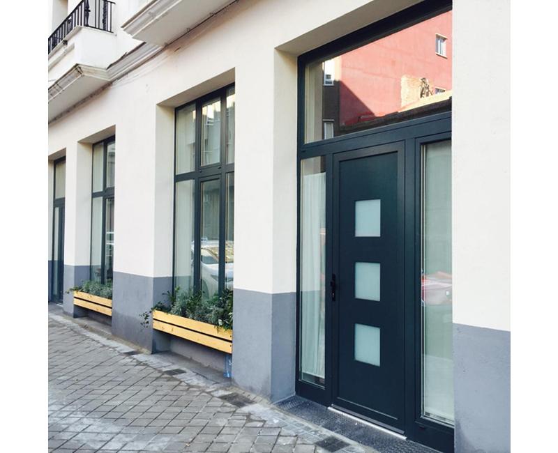 Puerta Entrada-Tablero PVC 2