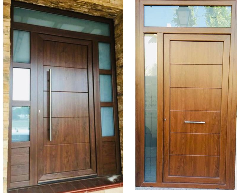 Puerta Entrada-Tablero PVC6
